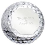 Golf Ball Crystal Award PA04
